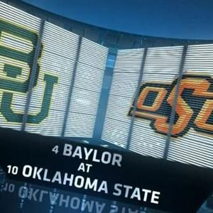 Oklahoma State hosts Baylor Saturday night with ESPN College Gameday in town. (Photo courtesy of sports.yahoo.com)