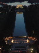 World War II Memorial and Lincoln Monument