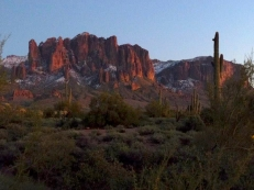 Superstition Mountains, Phoenix